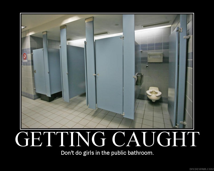 Girls in Restroom . Public Toilet - Video